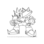 How to Draw Punk from Mega Man