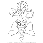 How to Draw Quint from Mega Man