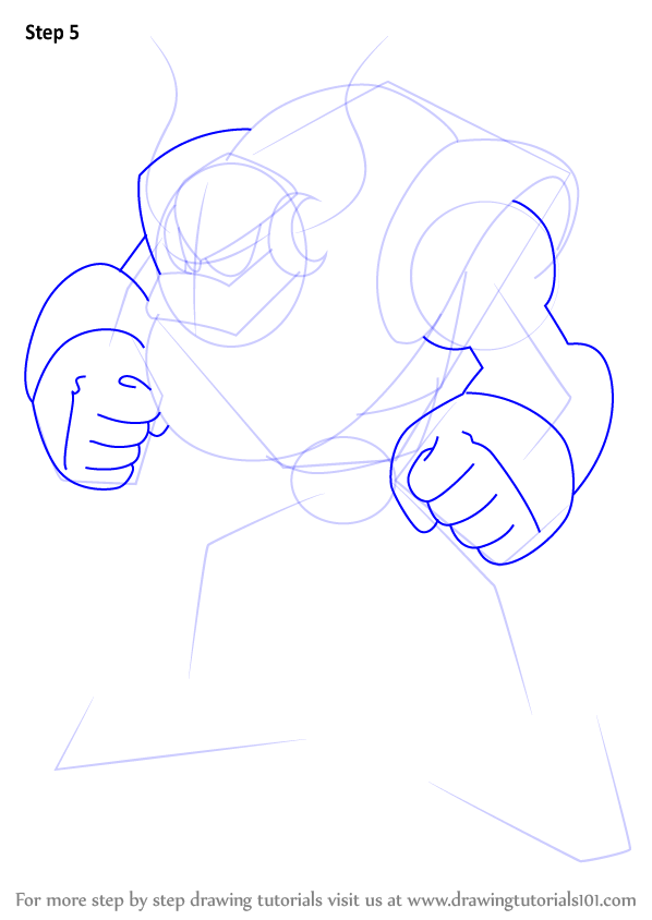 how to draw a cartoon man step by step
