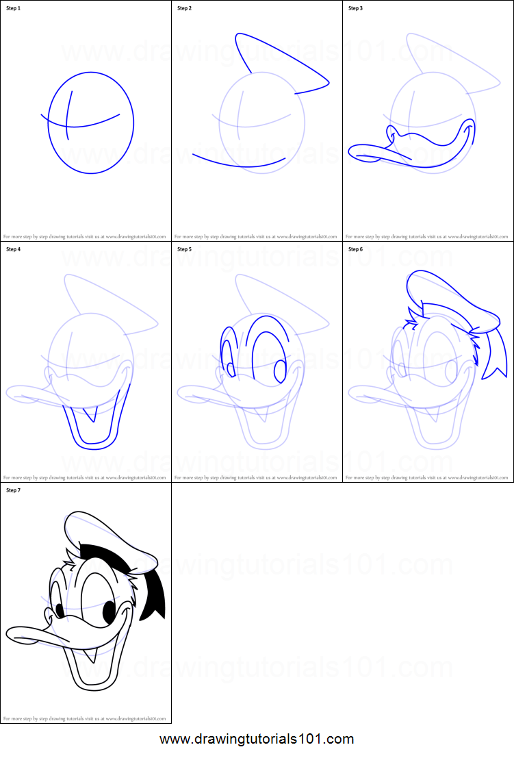 How to Draw Donald Duc...