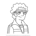 How to Draw Vinnie Dakota from Milo Murphy's Law