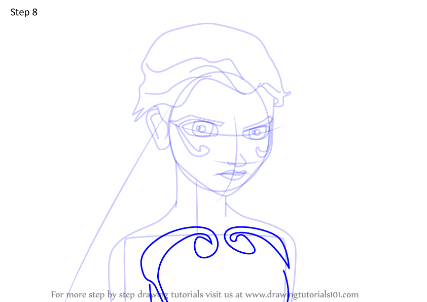 Learn How to Draw Melodie from