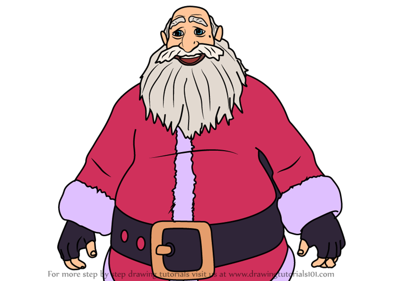 The Best Santa Claus Drawing Easy