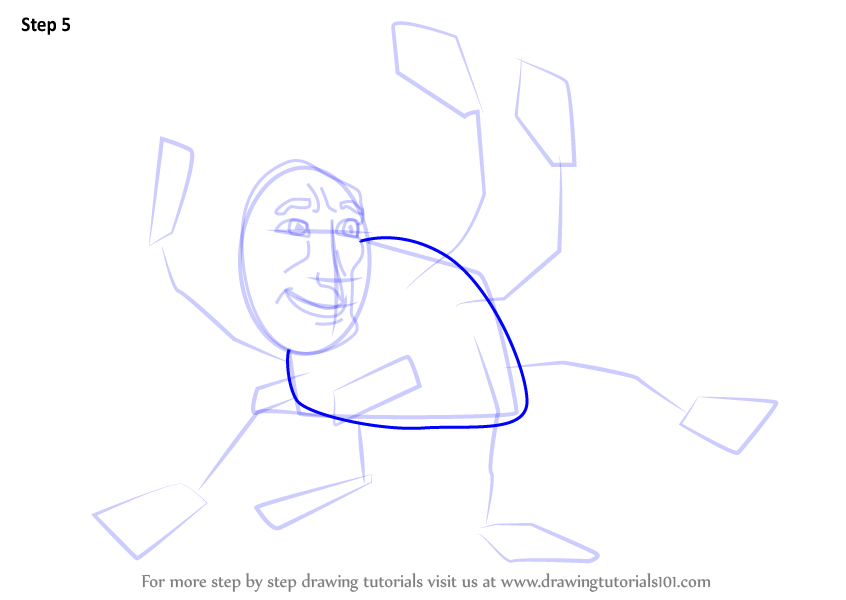 how to draw miss fritter