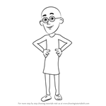 How to Draw Patlu from Motu Patlu