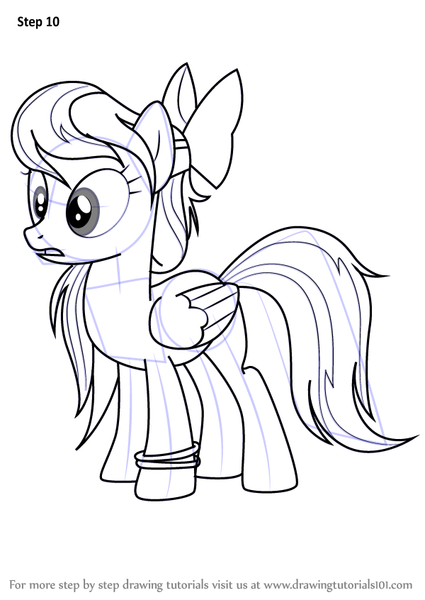 Learn How to Draw Angel Wings from My Little Pony