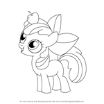 How to Draw Apple Bloom from My Little Pony: Friendship Is Magic