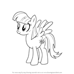 How to Draw Blossomforth from My Little Pony - Friendship Is Magic