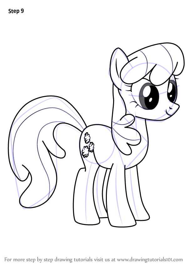 learn how to draw cheerilee from my little pony friendship is