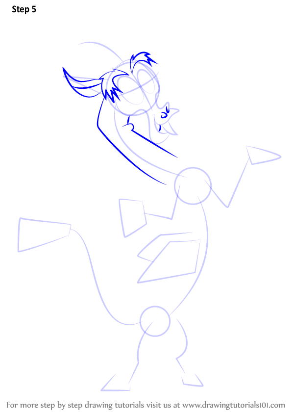 Learn How to Draw Discord from My Little Pony: Friendship Is