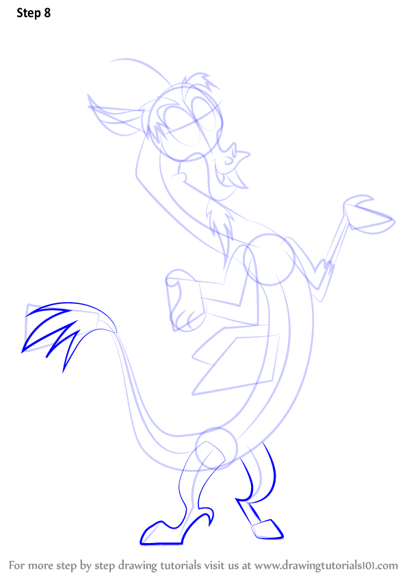 My Little Pony Discord Coloring Pages : Learn how to draw discord from my little pony friendship