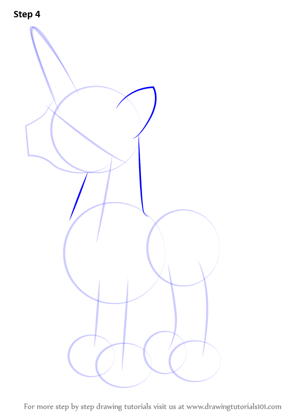 Step by Step How to Draw Fancy Pants from My Little Pony ...