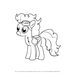 How to Draw High Winds from My Little Pony - Friendship Is Magic