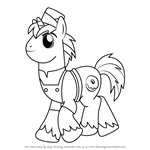 How to Draw Joe from My Little Pony - Friendship Is Magic