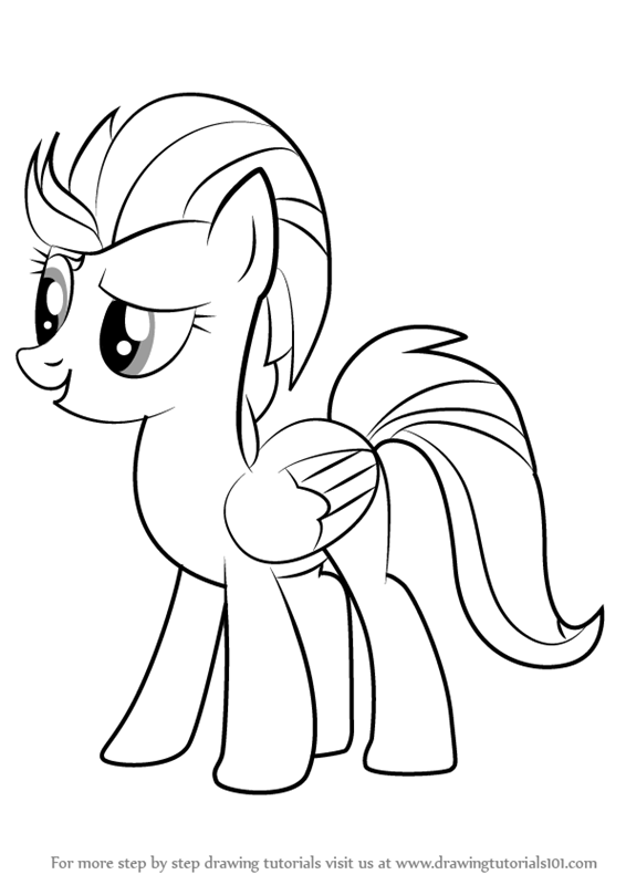My Little Pony Lightning Dust Coloring Pages : My little pony lightning dust coloring pages best ideas