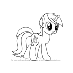 How to Draw Lyra Heartstrings from My Little Pony - Friendship Is Magic
