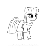 How to Draw Maud Pie from My Little Pony - Friendship Is Magic