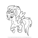 How to Draw Misty Fly from My Little Pony - Friendship Is Magic