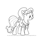 How to Draw Ms. Peachbottom from My Little Pony - Friendship Is Magic