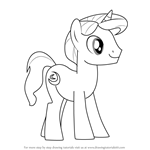 How to Draw Night Light from My Little Pony - Friendship Is Magic