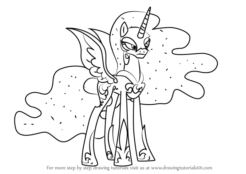 My Little Pony Friendship Is Magic Coloring Pages Coloring