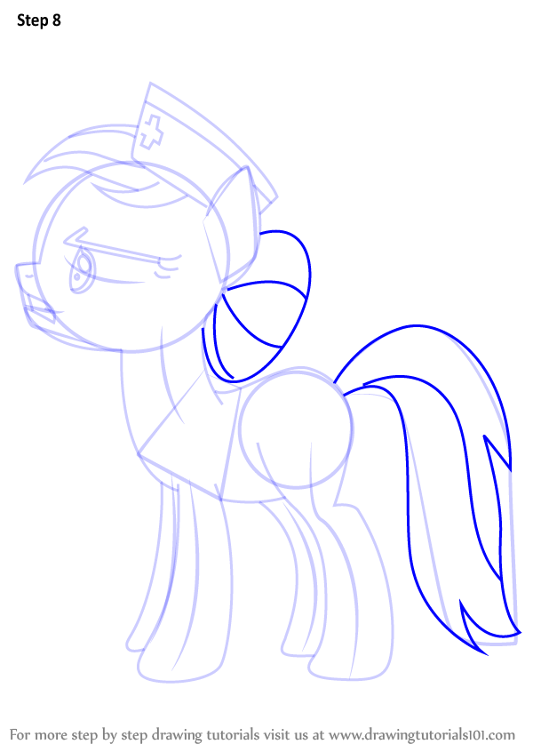 Learn How to Draw Nurse Redheart from My Little Pony