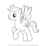 How to Draw Open Skies from My Little Pony - Friendship Is Magic