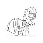 How to Draw Photo Finish from My Little Pony - Friendship Is Magic