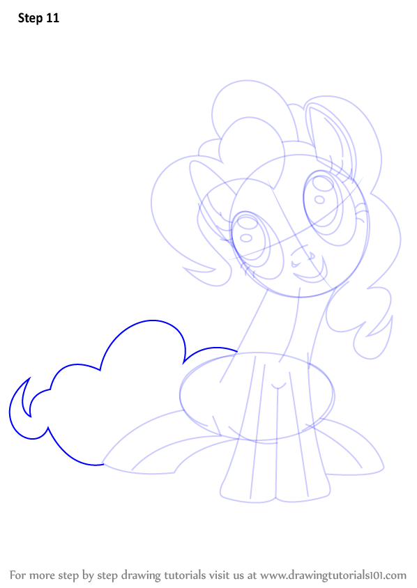 how to draw young pinkie pie