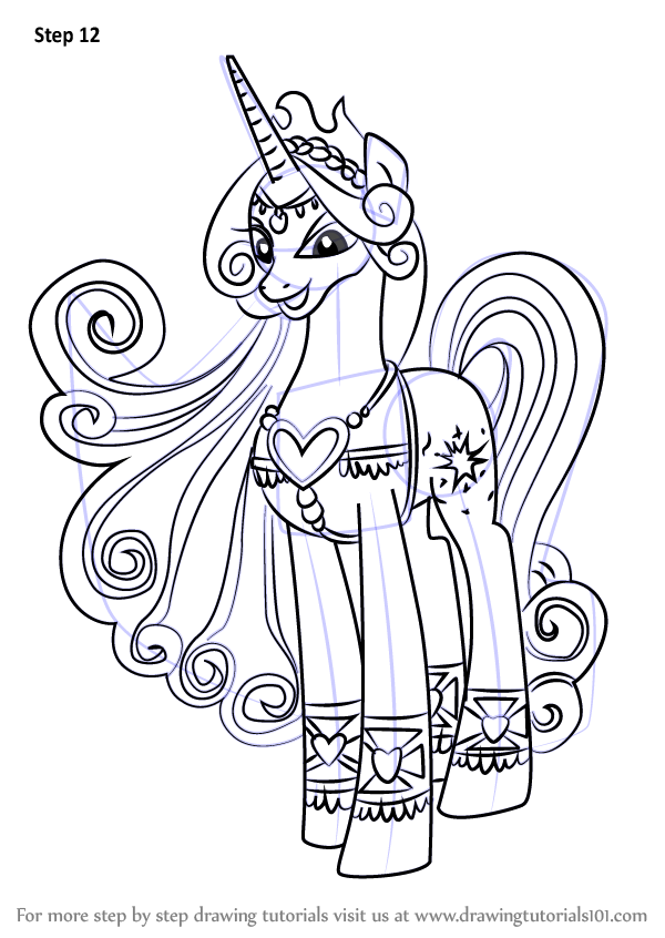 Learn How To Draw Princess Amore From My Little Pony