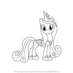 How to Draw Princess Cadance from My Little Pony: Friendship Is Magic