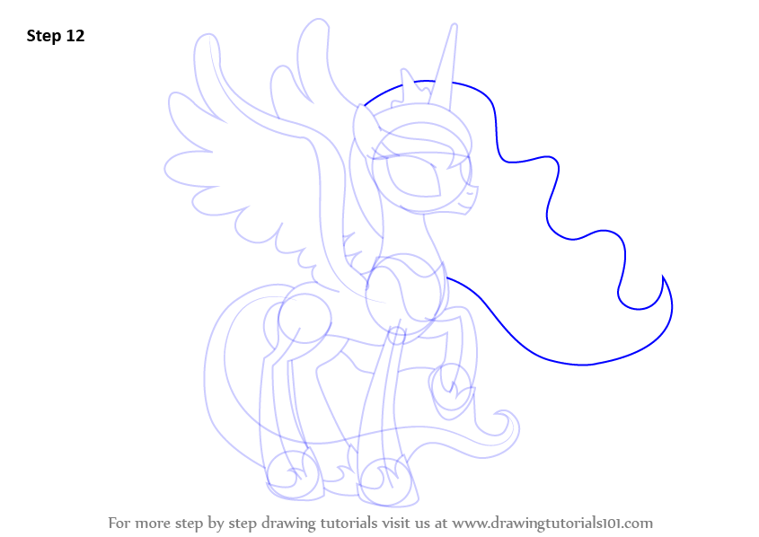 How To Draw Baby Luna