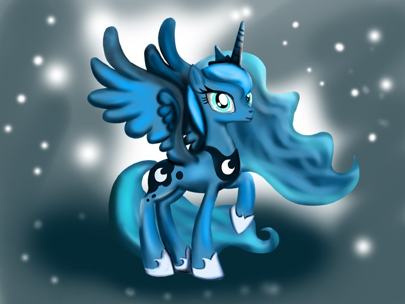 Learn How to Draw Princess Luna from My Little Pony: Friendship Is ...