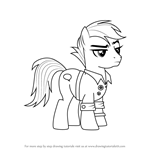 How to Draw Quibble Pants from My Little Pony - Friendship Is Magic