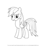 How to Draw Rainbow Dash from My Little Pony: Friendship Is Magic