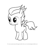 How to Draw Rumble from My Little Pony - Friendship Is Magic