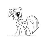 How to Draw Sapphire Shores Unicorn from My Little Pony - Friendship Is Magic