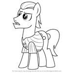 How to Draw Silver Shill from My Little Pony - Friendship Is Magic
