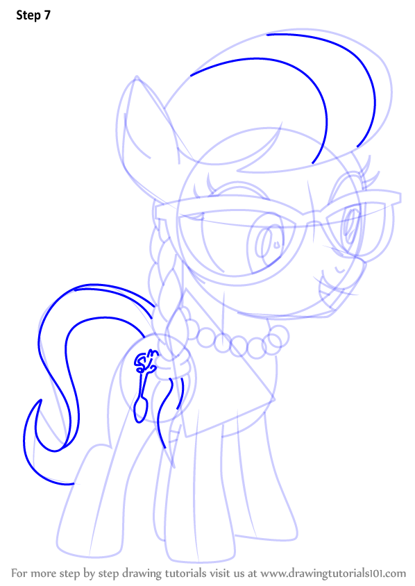 My Little Pony Coloring Pages Silver Spoon : Learn how to draw silver spoon from my little pony