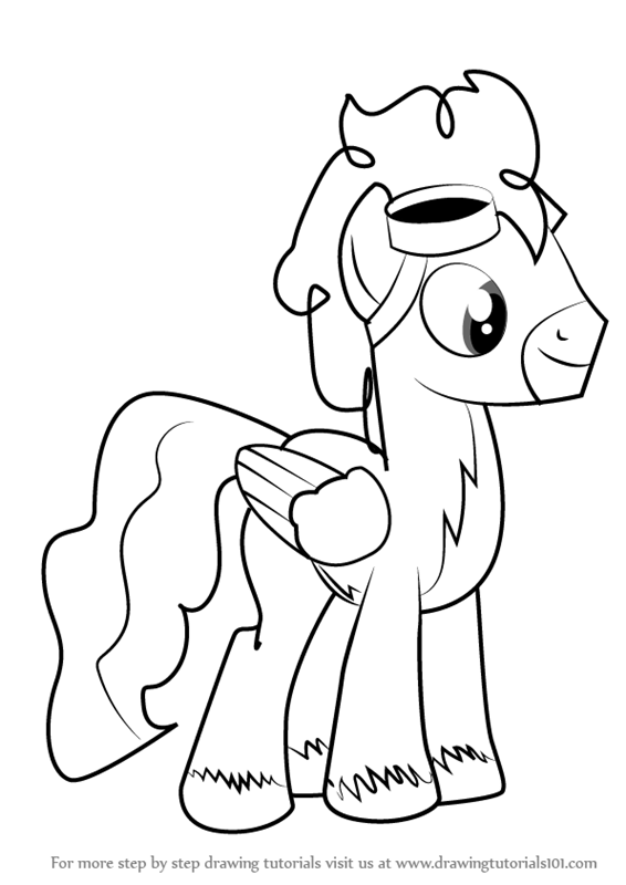 Learn How To Draw Silver Zoom From My Little Pony Friendship Is
