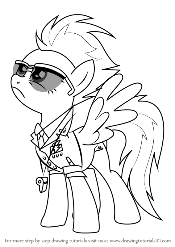 Learn How to Draw Spitfire from My Little Pony
