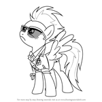 How to Draw Spitfire from My Little Pony - Friendship Is Magic