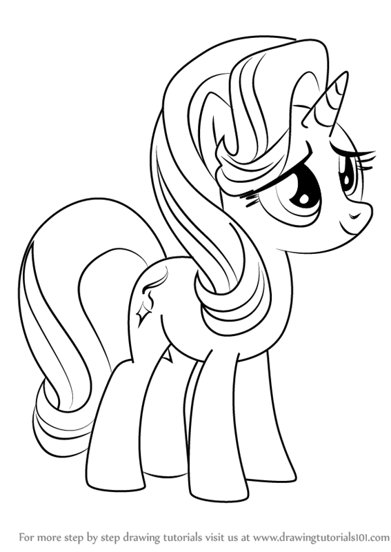 My Little Pony Starlight Glimmer Coloring Pages : Learn how to draw starlight glimmer from my little pony