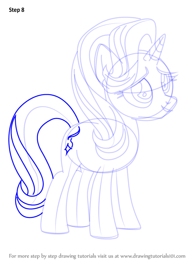 how to draw my little pony trise