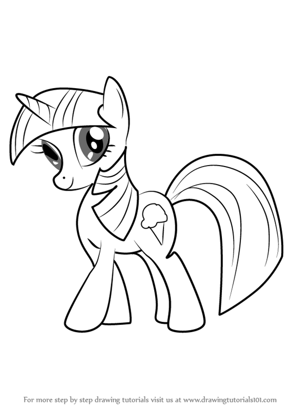 Learn How to Draw Sweetcream Scoops from My Little Pony ...