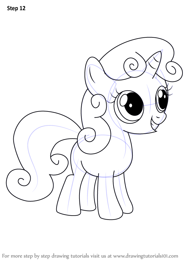 Learn How To Draw Sweetie Belle From My Little Pony