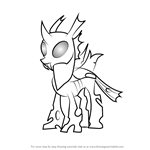 How to Draw Thorax Mature from My Little Pony - Friendship Is Magic
