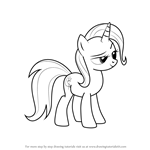 How to Draw Trixie from My Little Pony - Friendship Is Magic