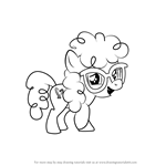 How to Draw Twist from My Little Pony - Friendship Is Magic