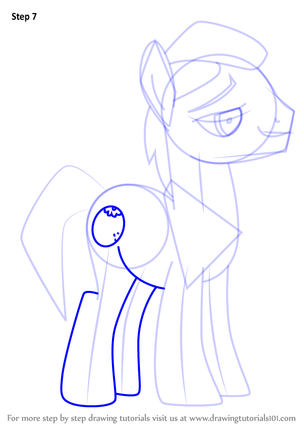 Learn How To Draw Uncle Orange From My Little Pony
